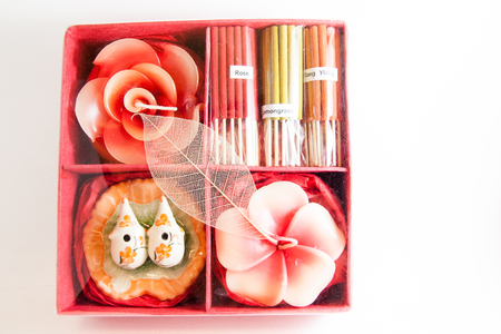 Candle spa aromatherapy tool - Thai gifts  Photo stock