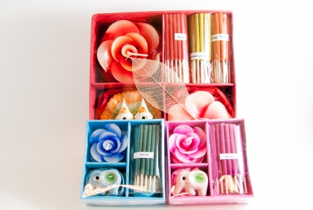 Candle spa aromatherapy tools - Thai gifts  Photo stock