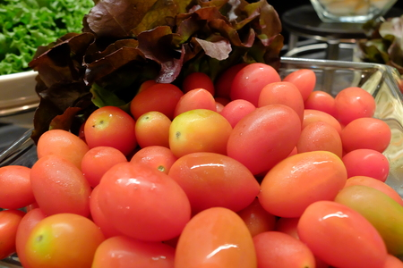 Red Tomatoes Organic Vegetable