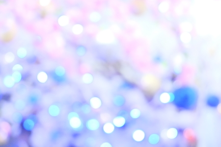 White pink blur bokah lights abstract texture. Christmas Wallpaper Imagens
