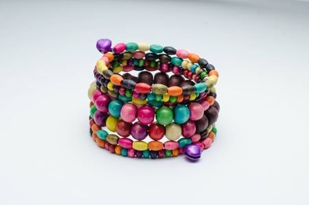 Multicolored bangle in asian style  photo