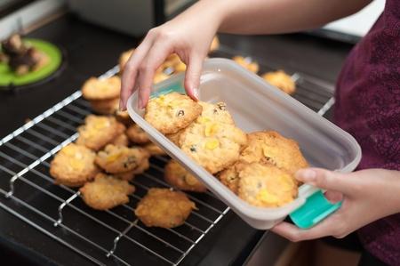 raisin cookies photo