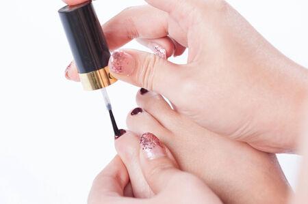 toenail: toenail paint