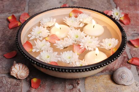 Decorative bowl for aromatherapy wellness, ZEN or whatever     photo
