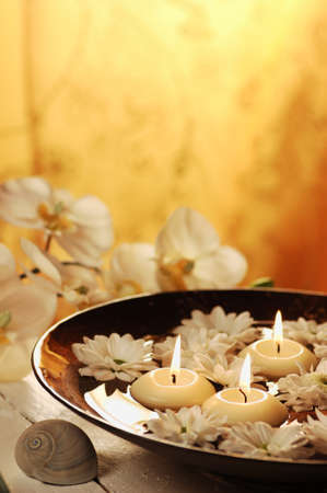 Aromatherapy bowl Stock Photo