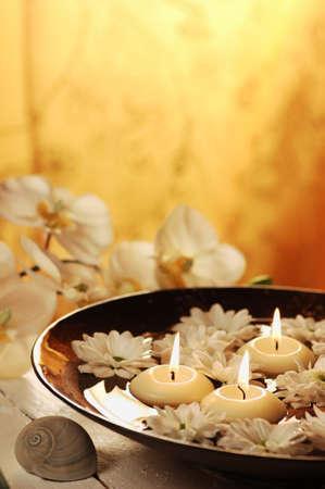 Aromatherapy bowl Stock Photo - 19019673
