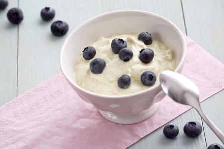 Vanilla Quark with Blueberries