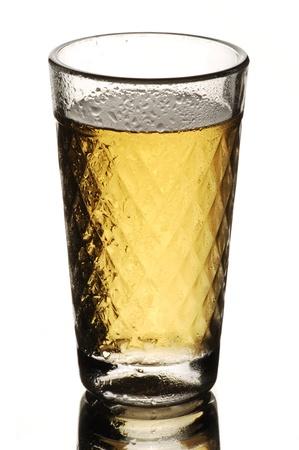 glas: Apfelwein - Traditional hessian Cider in gerippten glas