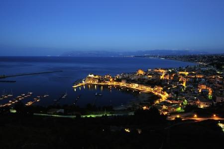 castellammare del golfo: Blue hour at Castellammare del golfo, Sicily