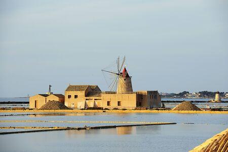 trapani: Sicilian Salt Mill in Trapani