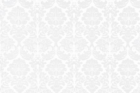 White Baroque Background