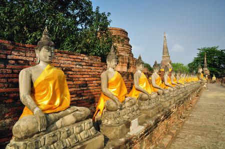yai: Wat Yai Chaimongkhon Archivio Fotografico