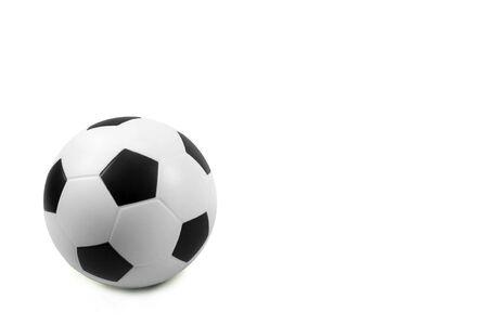 soccer wm: F�tbol sobre un fondo blanco Foto de archivo