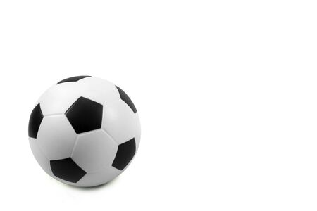 soccer wm: Football on a white background