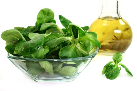 rapunzel: a bowl of lettuce on a white background