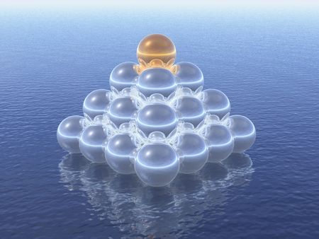 pyramide d'affaires