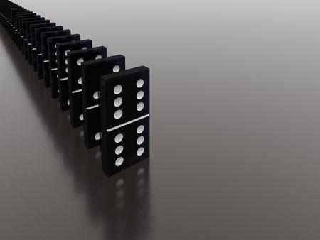topple: domino