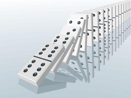 domino effect photo