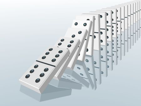 domino effect photo