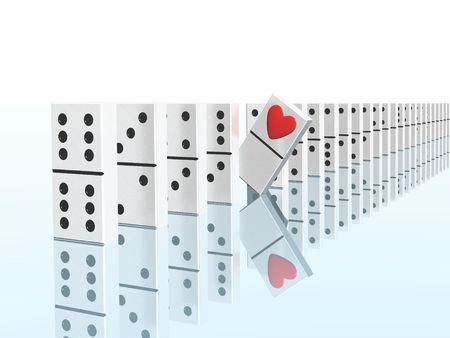 amp: domino andamp,amp,amp, heart