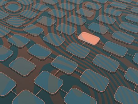 network structure (hires 3D background) Stock Photo - 856294