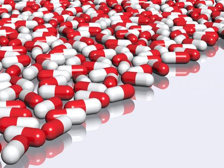 biopsia: Farmacia antecedentes  Foto de archivo