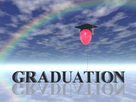 graduation poster (hires 3D image)