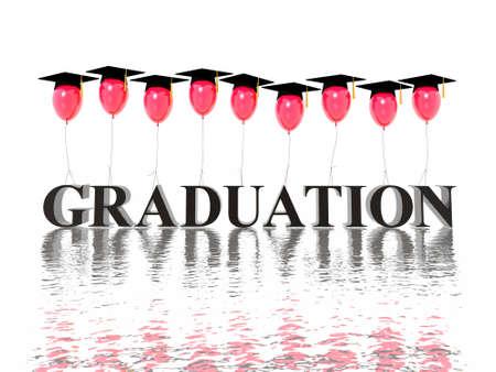 hires: graduation poster (hires 3D image)