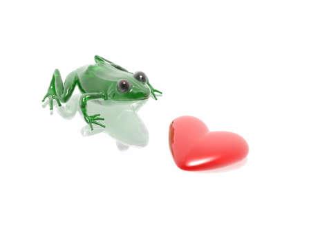 frog & heat (hires 3D image) photo