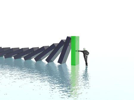 adversity: effect domino