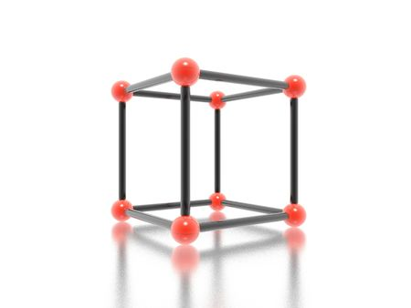 cube (high resolution 3D image) Stock Photo - 2114366