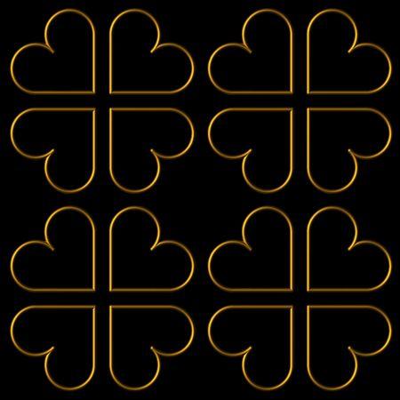 3D valentines tiles Stock Photo - 2248544