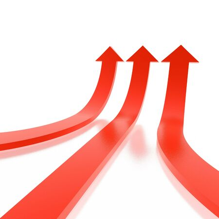 arrows (from 3D arrows set) Stock Photo - 2745598