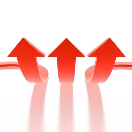arrows (from 3D arrows set) Stock Photo - 2744033
