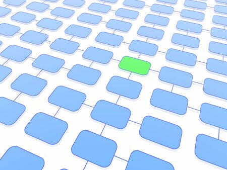 program structure background (green and blue set) Stock Photo - 2779034