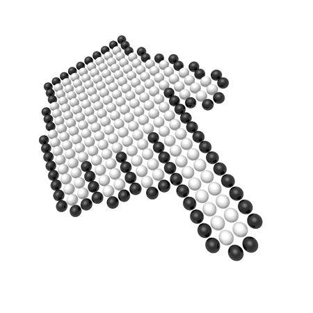 hand cursor Stock Photo - 3474251