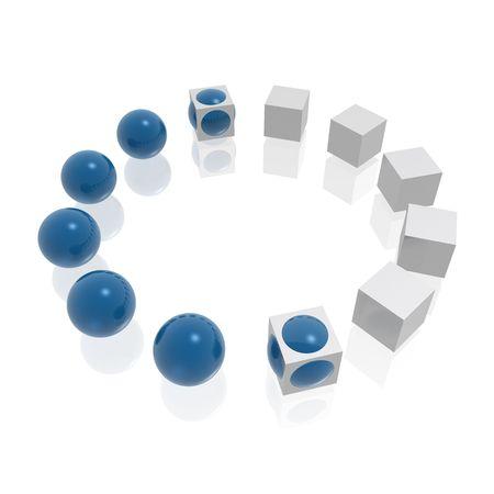 fusion (bleu et argent s�rie)