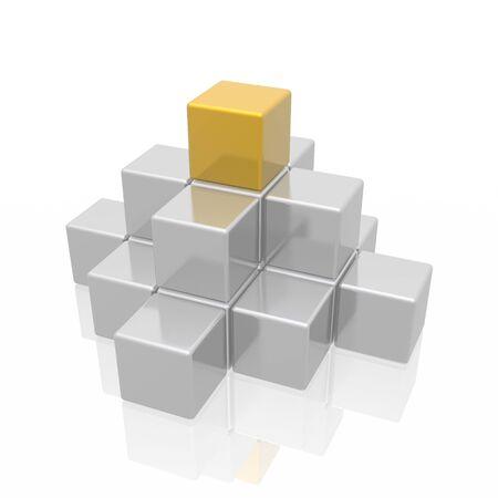 pyramide (l'or et l'argent s�rie)