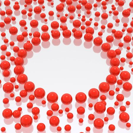 spheres background Banco de Imagens