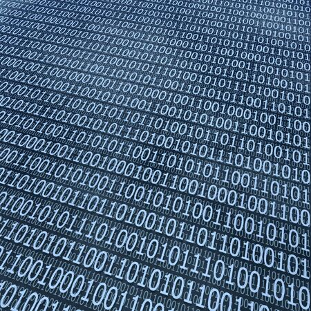 binary coding background