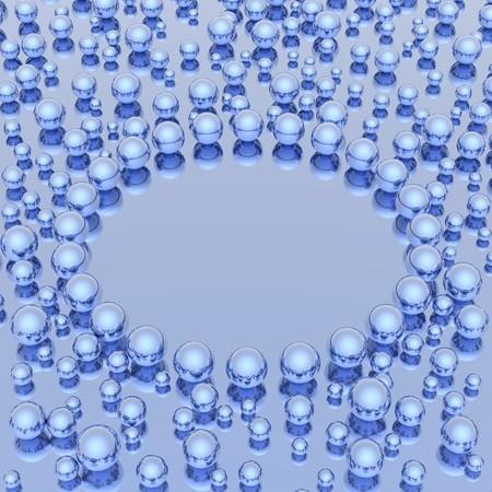 spheres background Stock Photo - 4391547