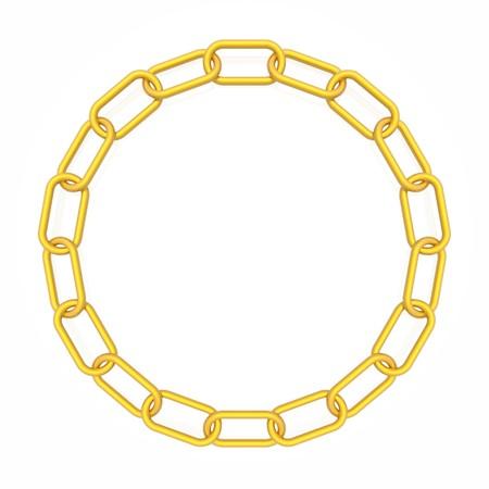 chain frame photo