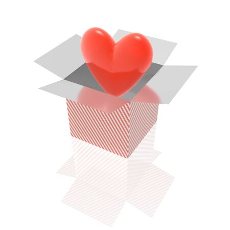 suprise: heart and box
