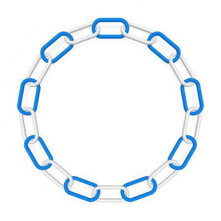 circular chain: chain frame