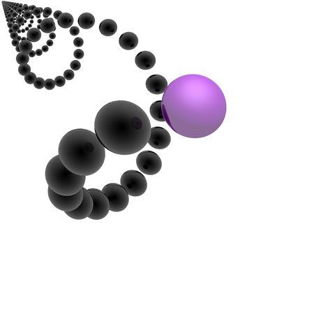 helix (violet set) photo