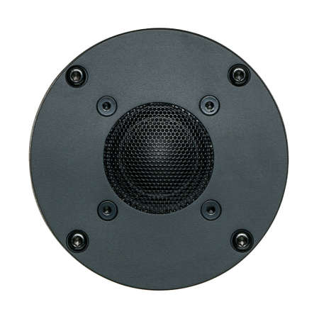 A black tweeter speaker cone, Object Stok Fotoğraf - 151665653
