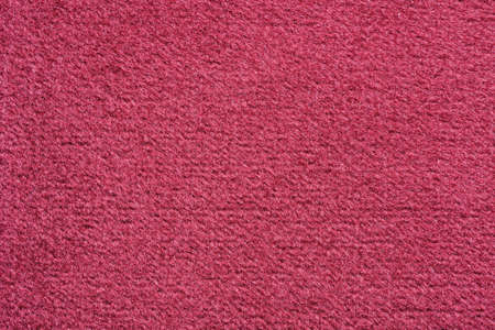 Close-up of a red velvety upholstery fabric Stok Fotoğraf