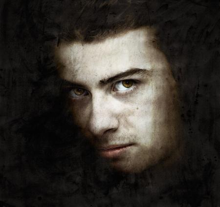 그림 효과 인간의 portret
