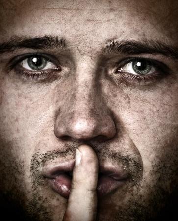 forbids: Man who forbids you to talk