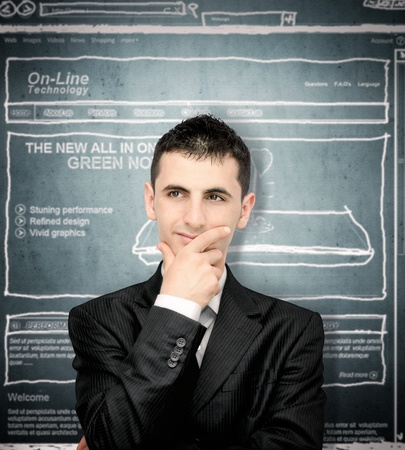 Starting out organized: Website content planning the right way Stock Photo - 11105804